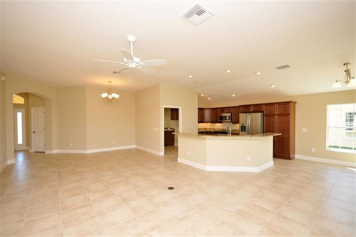 need help with an open concept, kitchen living room dining.