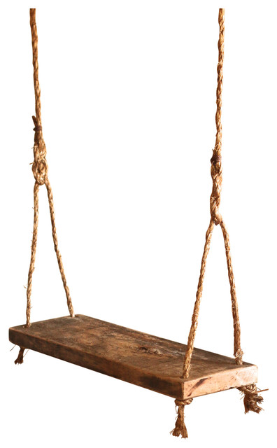 Children S Wood Tree Swing Rustic Kids Playsets And