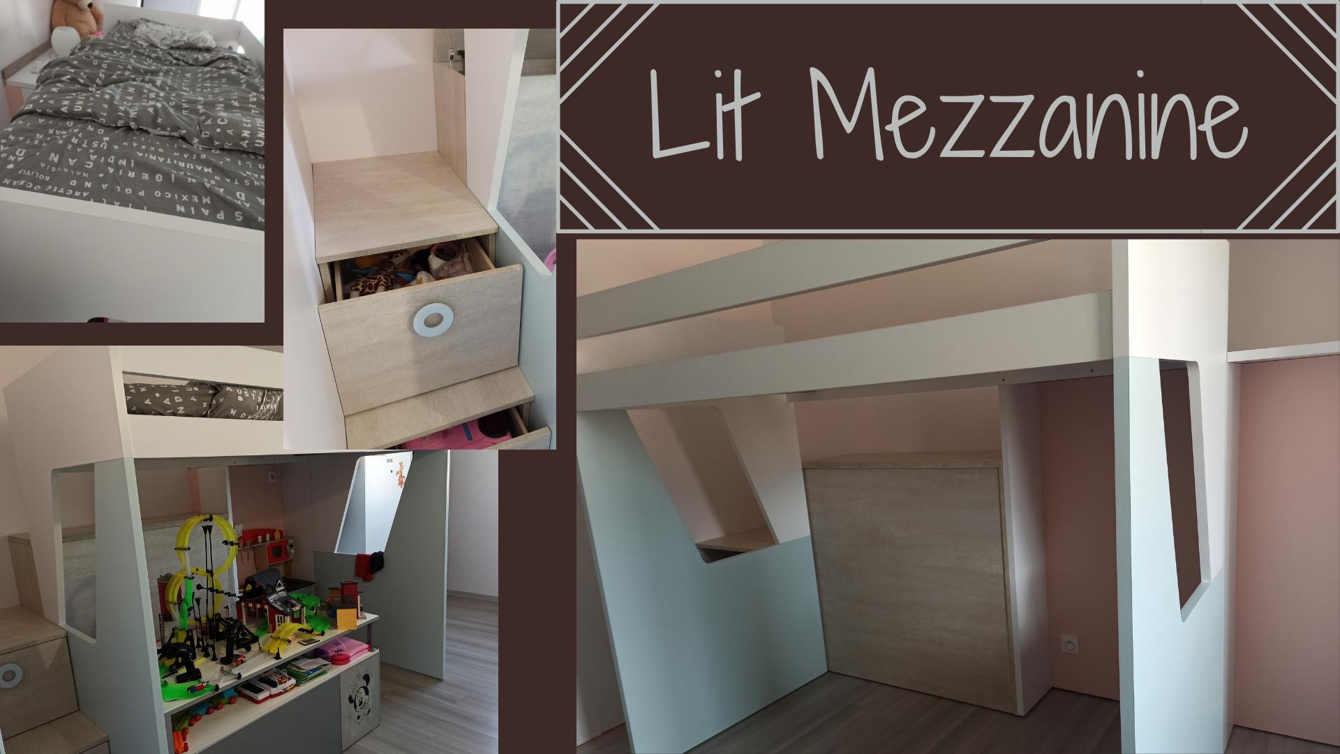 Astucieux lit mezzanine