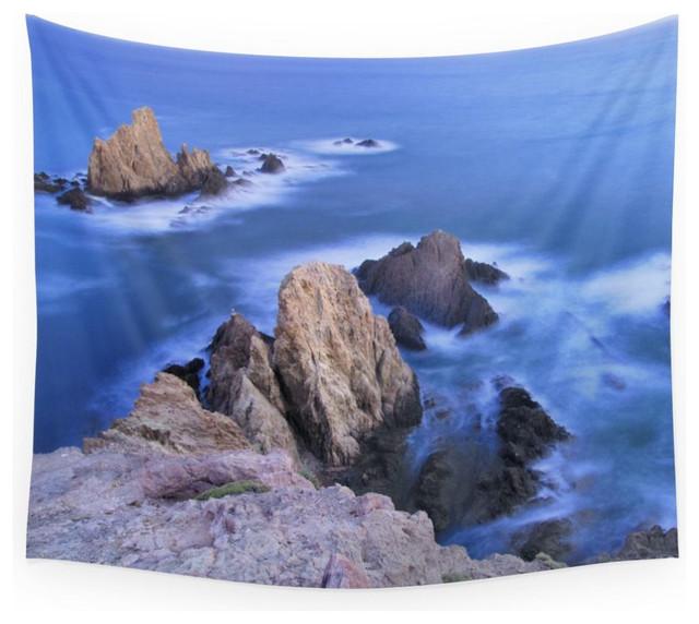Society6 Blue Mermaids Wall Tapestry