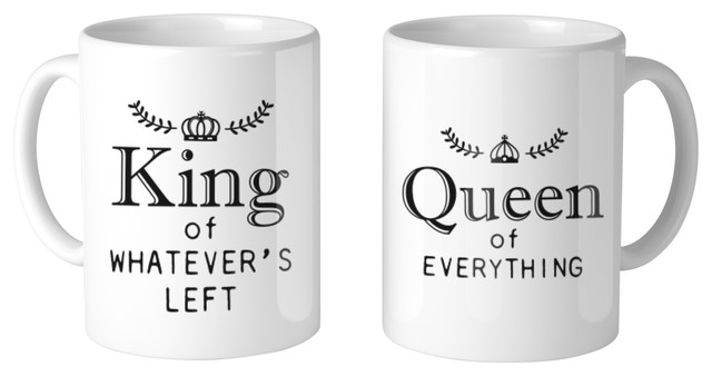 King And Queen Of Everything 11oz Coffee Mug