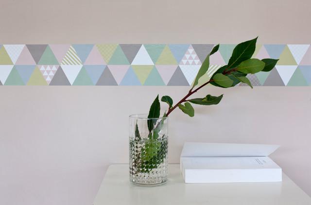 frise murale moderne lyon par poisson bulle. Black Bedroom Furniture Sets. Home Design Ideas