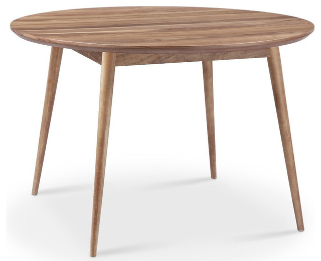 Victory Round Dining Table Walnut Traditional Dining