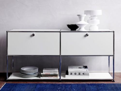 usm black white sale 15 offusm haller credenzausm modular furniture is timeless and versatile. Black Bedroom Furniture Sets. Home Design Ideas