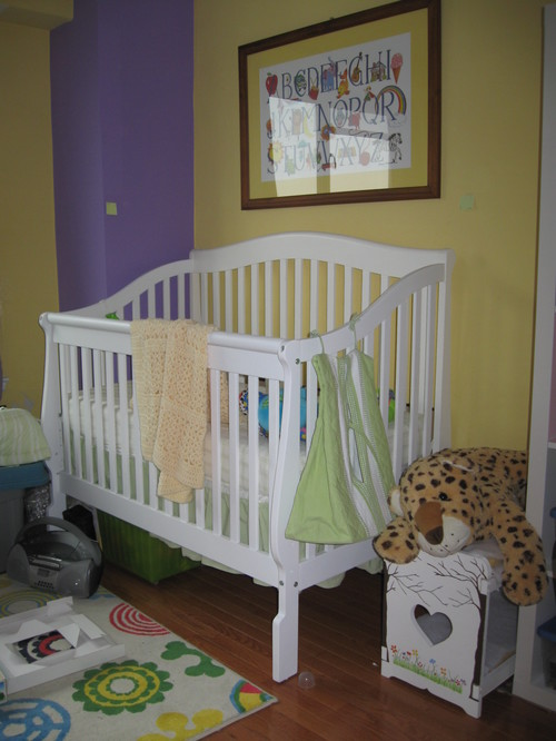 Design Chalenge A Room For A Baby Boy And 8 Year Old Girl