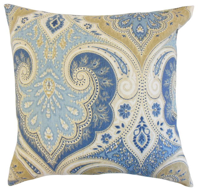 Kirrily Damask Floor Pillow Floor Pillows And Poufs By The Pillow Collection