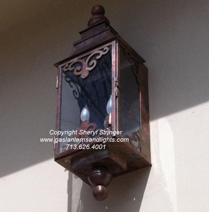Sheryl's Ornate Electric Lantern