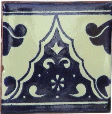4.2x4.2 9 Pcs Sierra Talavera Mexican Tile.