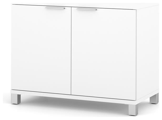 Bestar 2-Door Storage Cabinet - Contemporary - Storage Cabinets ...
