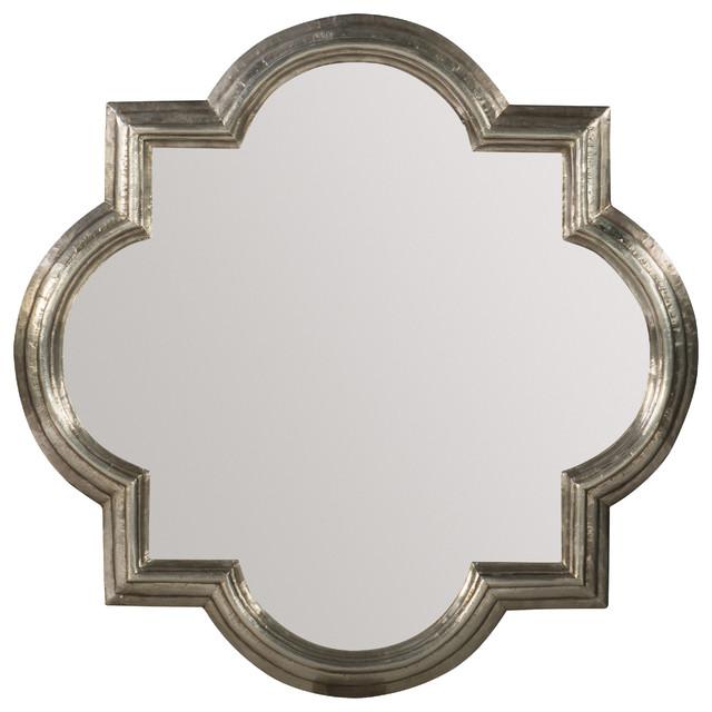 German Silver Mirror.