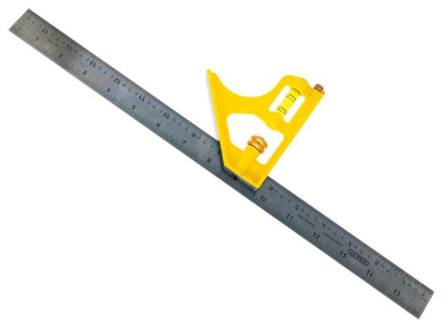 "Stanley Hand Tools 16"" Contractor Grade Combination Square."