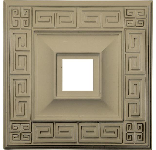18 X18 X3 5 X1 125 Eris Ceiling Medallion Traditional Ceiling Medallions By Ekena Millwork
