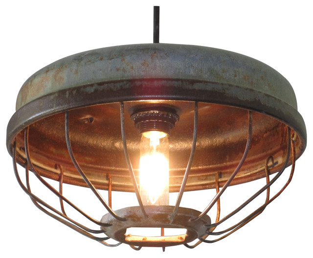 Out of the woodwork designs chicken feeder pendant light pendant lighting
