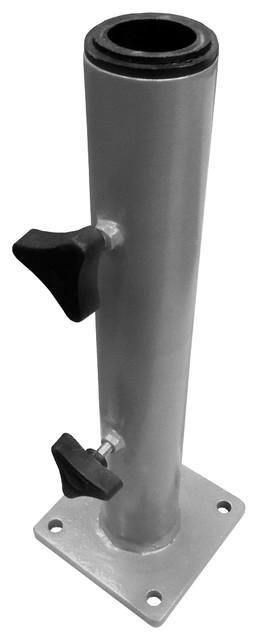 Patio Umbrella Accessories Replacement: Steel Deck Base Umbrella Stand