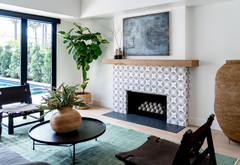 Airy Modern Style With Punches of Pattern and Warmth