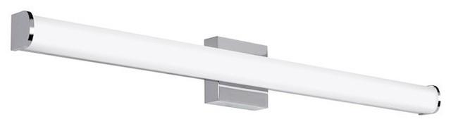 """Tech Lighting Basis Bath Light, Chrome, 36"""", LED927"""