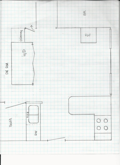 In Need Of Layout Help For Beach House Kitchen