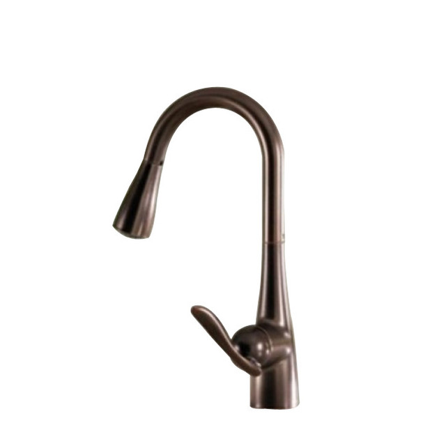 shop houzz juno showers waterfall kitchen faucet oil shop delta pilar waterfall arctic stainless 1 handle high