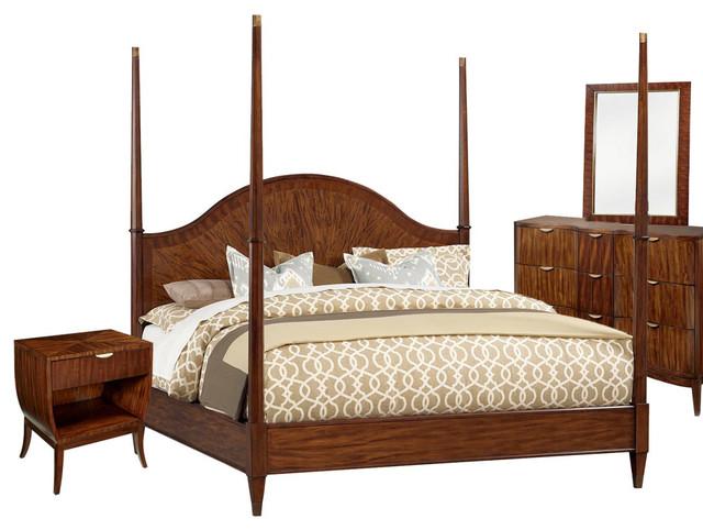 Fine furniture design boulevard bedroom set transitional - Transitional style bedroom furniture ...