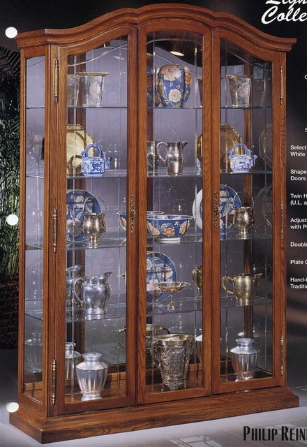 Lighthouse La Grange -Curio Display Cabinet - Traditional - China Cabinets And Hutches - by ...