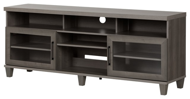 South Shore Adrian Tv Stand For Tvs Up To 75 Transitional