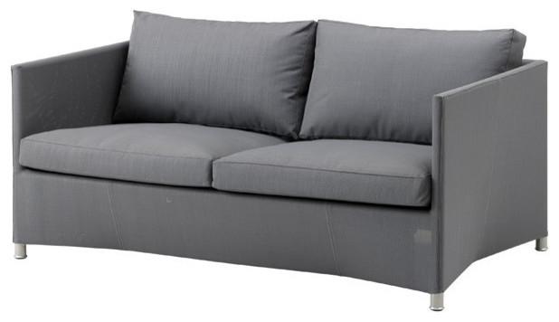 Diamond Tex and Sunbrella 2/Seater Sofa - Contemporary - Outdoor ...