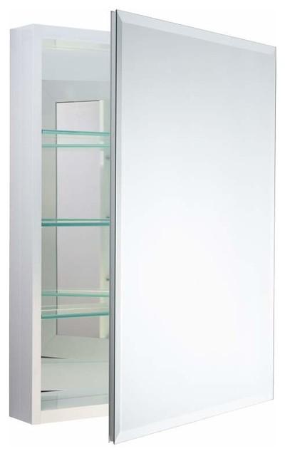 "Miseno Mbc3023 Carlentini 30""h X 23""w Beveled Mirrored Medicine Cabinet."