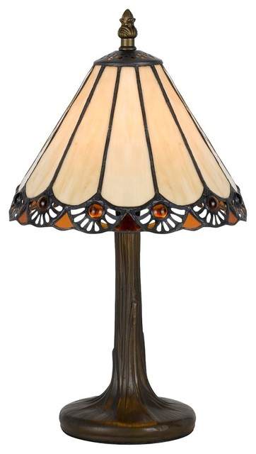 Antique Brass Finish Cast Lamp Bas