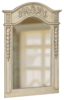 vintage bathroom mirror foret 80045 single carved portrait mirror in antique 14961