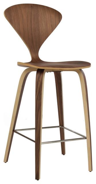 bent wood stool counter height