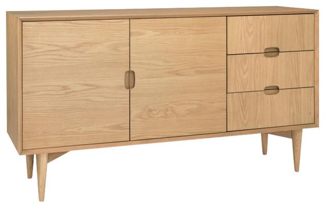 Oslo Oak Furniture Wide Sideboard