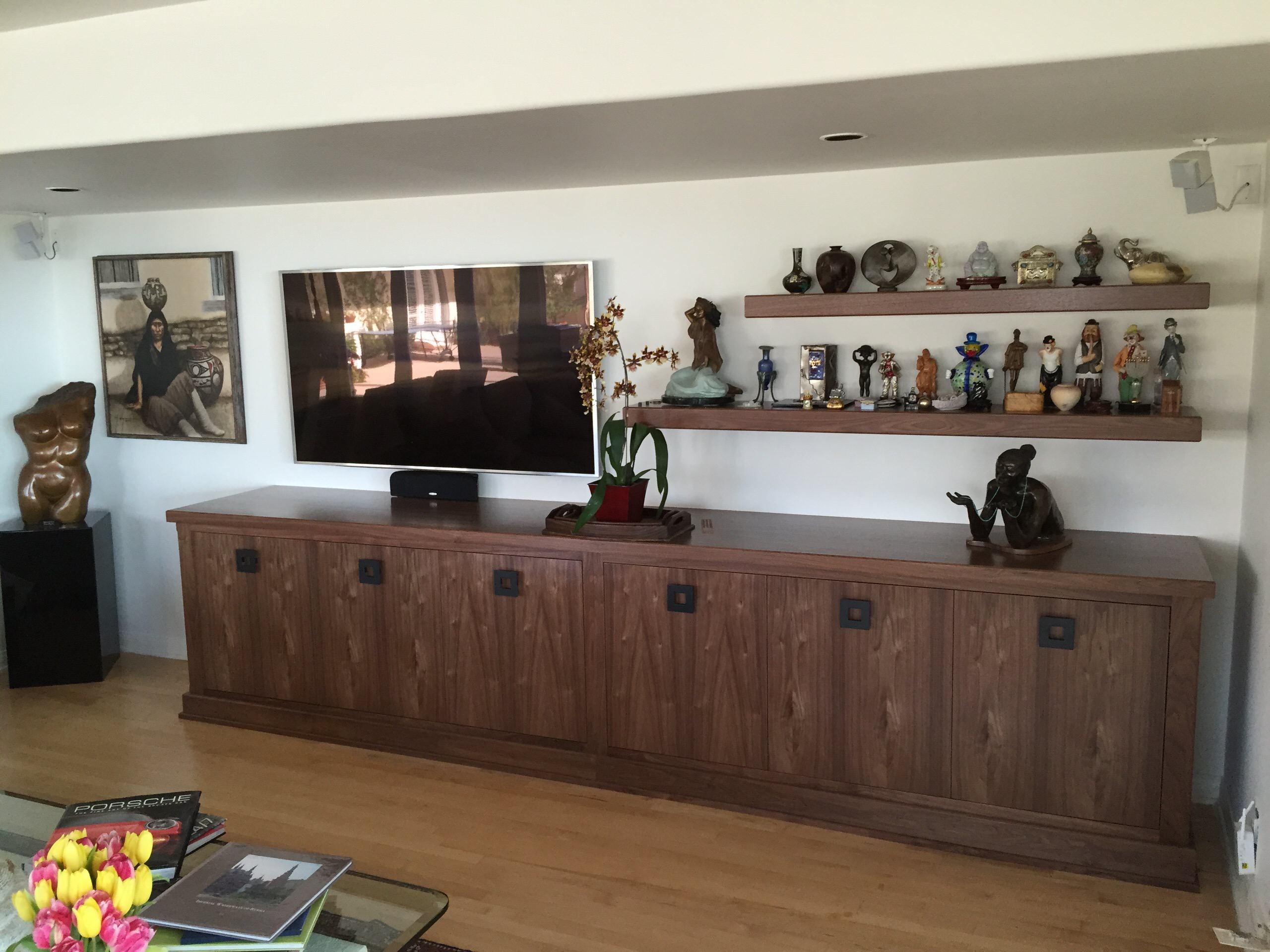 Pacific Palisades Storage Cabinetry & Shelves