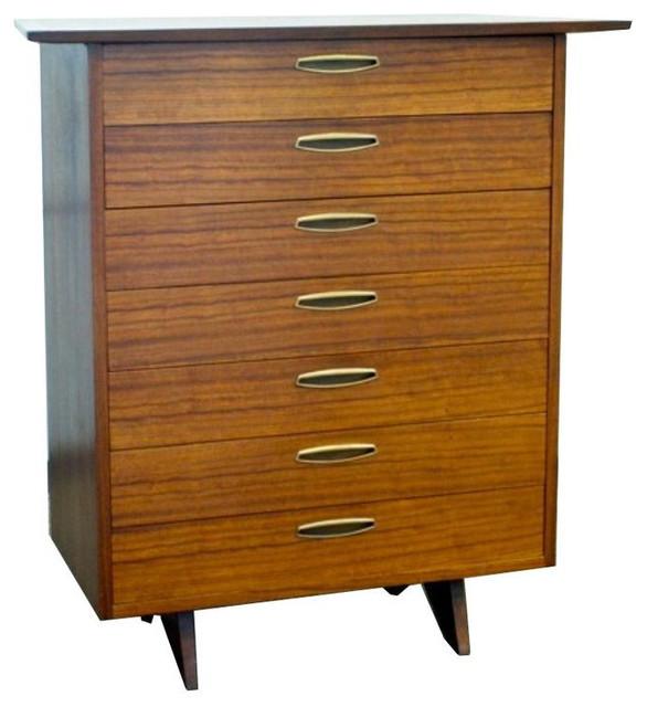 Rare Mid Century George Nakashima 7 Drawer Dresser 10 000 Est Retail 4