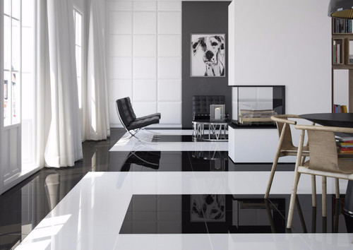 In The Shell White And A New Collection Called Piano Series Offered High Gloss Black Would You Consider This Look For Your Living Room