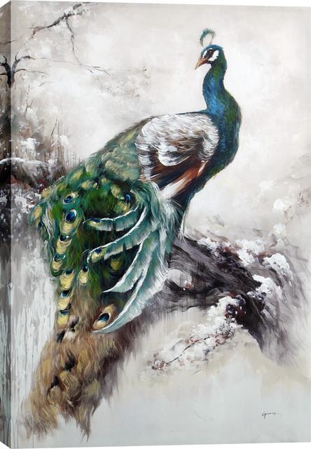 "Hobbitholeco ""peacock"" Artwork."
