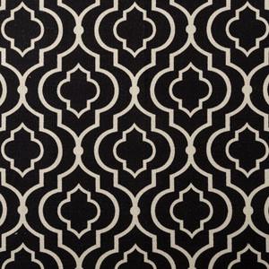 Designer Roman Shades Plain Fold, 70wx65h, Donetta Licorice.