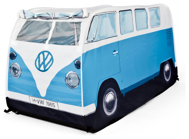 VW Kids Pop Up Play Tent Blue beach-style-baby-and-  sc 1 st  Houzz & VW Kids Pop Up Play Tent - Beach Style - Baby And Kids - by lisa ...