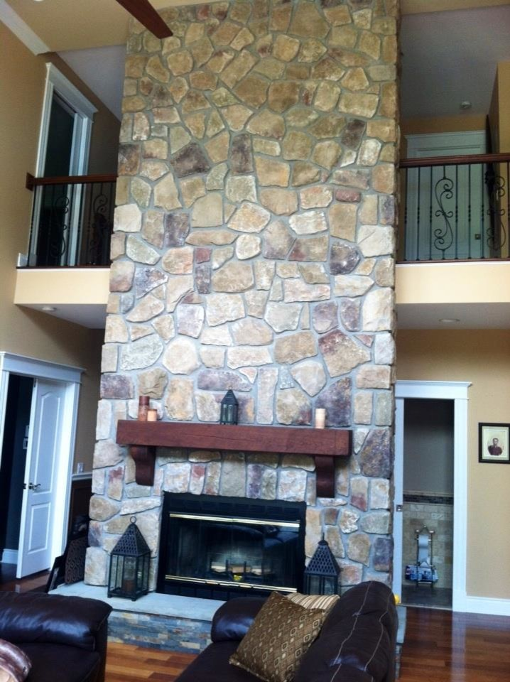 Dr. Gabe, Family Room, Fire place and Balcony, after