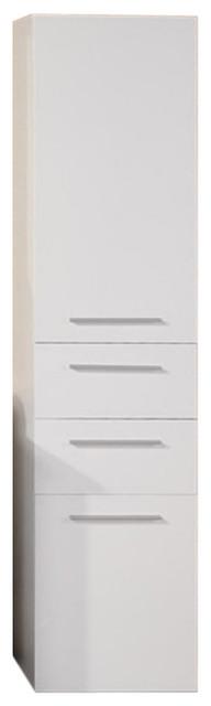"Malibu 66"" Linen Cabinet."