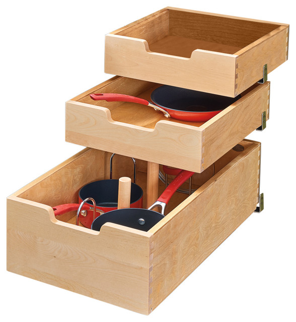 "Kitchen Cabinet Drawer Kits: 22"" Pilaster System Kit For Door Drawer Application"