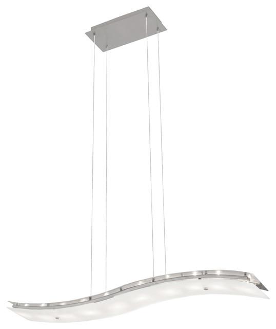 Kitchen Island Lights Houzz: Eglo Lighting 88205A News 10 Light Island Lights In Matte