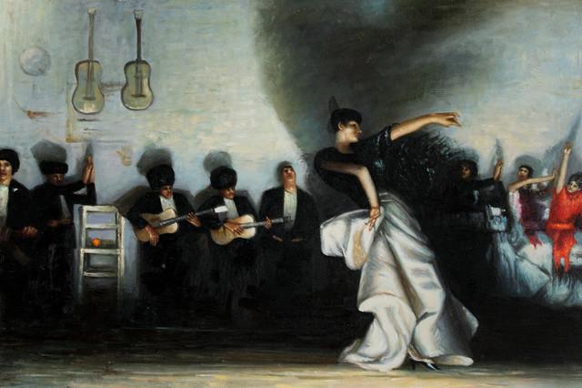 Sargent El Jaleo Victorian Paintings By Overstockart