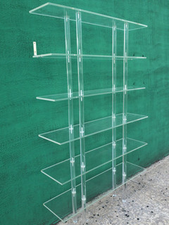 tiled splashbacks for bathrooms vintage lucite bookcase 201 tag 232 re by at 1st sight 20913
