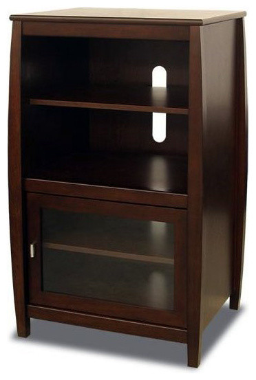 Tech-Craft Veneto Series Wood Audio Rack - Transitional - Entertainment Centers And Tv Stands ...