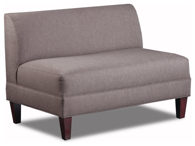 briley armless loveseat linen