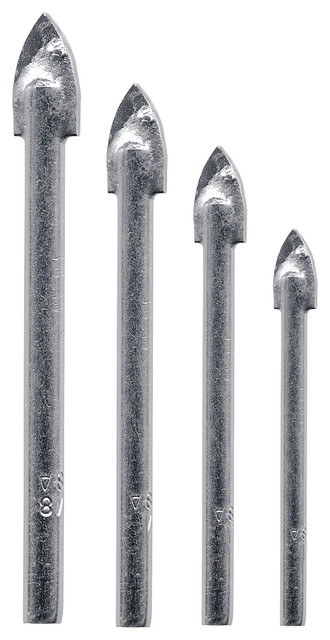 Vermont American 13310 4 Piece Glass And Tile Drill Bits.