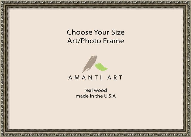 """Art/Photo Frame, Parisian Silver, 35""""x25"""""""