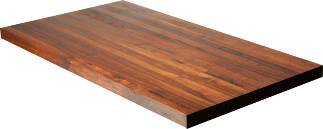 Beau Black Walnut Butcher Block Countertop