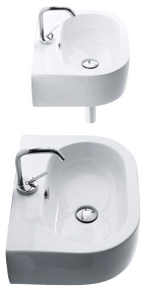 Flo 3141 Ceramic Bathroom Sink.