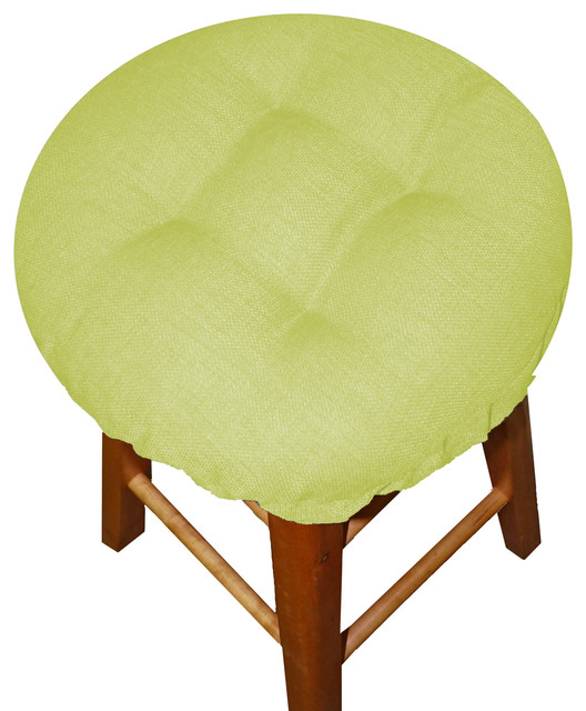 Rave Light Green Bar Stool Cover With Adjustable  : contemporary seat cushions from www.houzz.com size 528 x 640 jpeg 76kB